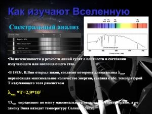 "Пример слайда лекции ""Методы астрономии"""