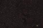 Темные туманности Барнарда в Орле B142-143