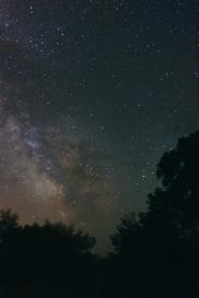 Млечный путь над КРАО, Крым 22.06.2009. 10х2 мин, ISO1600. EQ1, Canon 350D 18-58(18)