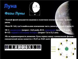 Слайд презентации Лекции 4. Луна