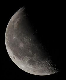 Луна в рефрактор SW80ED