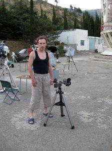 """Мой карманный астрофотосетап. Крым, """"Южные ночи 2009"""""""