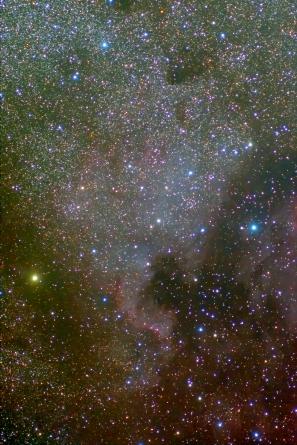 NGC7000 (Северная Америка) и Пеликан