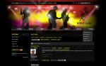 Сайт Клуба 50/50, Чебоксары на CMS eProject