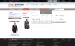 Интернет-магазин одежды из Европы на CMS eProject