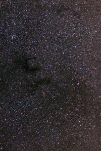 Темные туманности Барнадра в Орле Астротрекер SW Star Adventurer, Таир-3 (на 1/5,6), Canon 350D, автогид. 10х4мин, ISO 400, FitsWork.