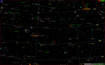 Поисковая карта для М33, М31, NGC752
