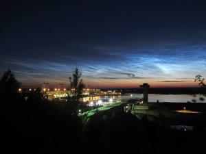 Серебристые облака 08.07.2014  Canon PS SX220 HS, ISO 100, 5сек, 1:26 МСК