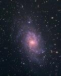 Галактика М33 в Треугольнике. 10х5мин ISO800, 23.09.2014. Оборудование: CG5+C6N+Canon350D+(8x50+QHY-6)