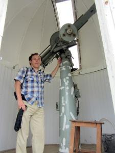 В обсерватории ЧГПУ