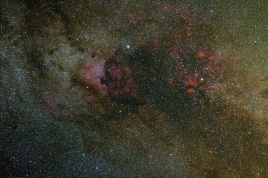 "NGC-7000 ""Северная Америка"", ""Пеликан"", и др."