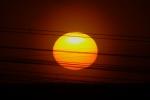 Прохождение Меркурия по диску Солнца 09.05.2016. Заход солнца