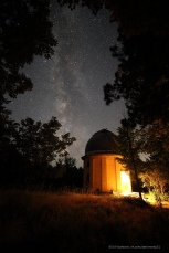 Млечный путь над КРАО. Canon 6D, Samyang 14/2.8, 30s, ISO 6400. Крым, Южные ночи-2018, КРАО, июнь 2018.
