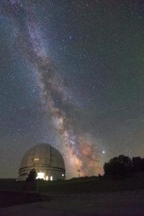 БТА, Млечный путь и Юпитер